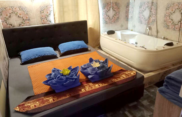 Our Couple Room is ideal for Couple & Four Hands Massage including happy ending massage and full service